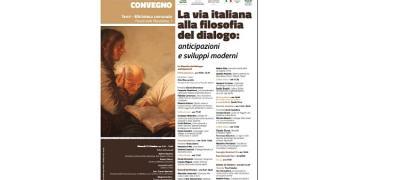 La vita italiana alla filosofia del dialogo:anticipazioni e sviluppi moderni