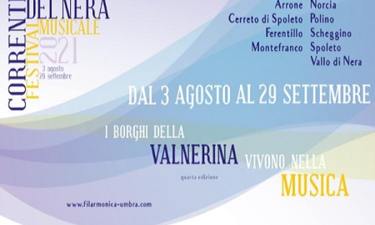 CORRENTI DEL NERA - FESTIVAL MUSICALE 2021