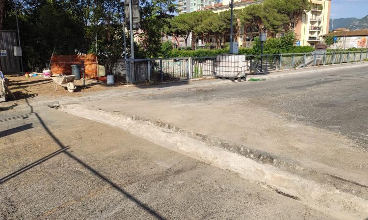 Ponte Garibaldi, lavori in corso per sostituire i giunti