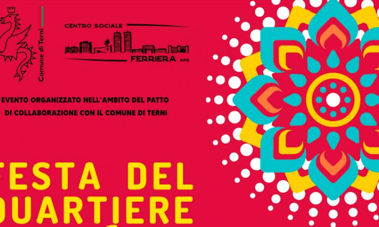 Festa del quartiere al centro sociale Ferriera il 25 giugno